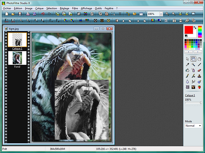 photofiltre studio 7.4.0